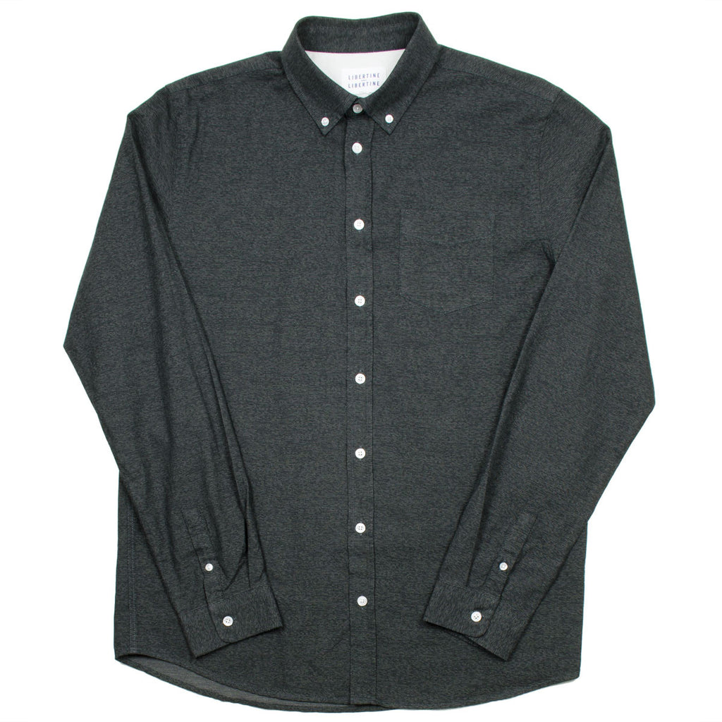 Libertine-Libertine - Hunter Shirt Bruce - Asphalt