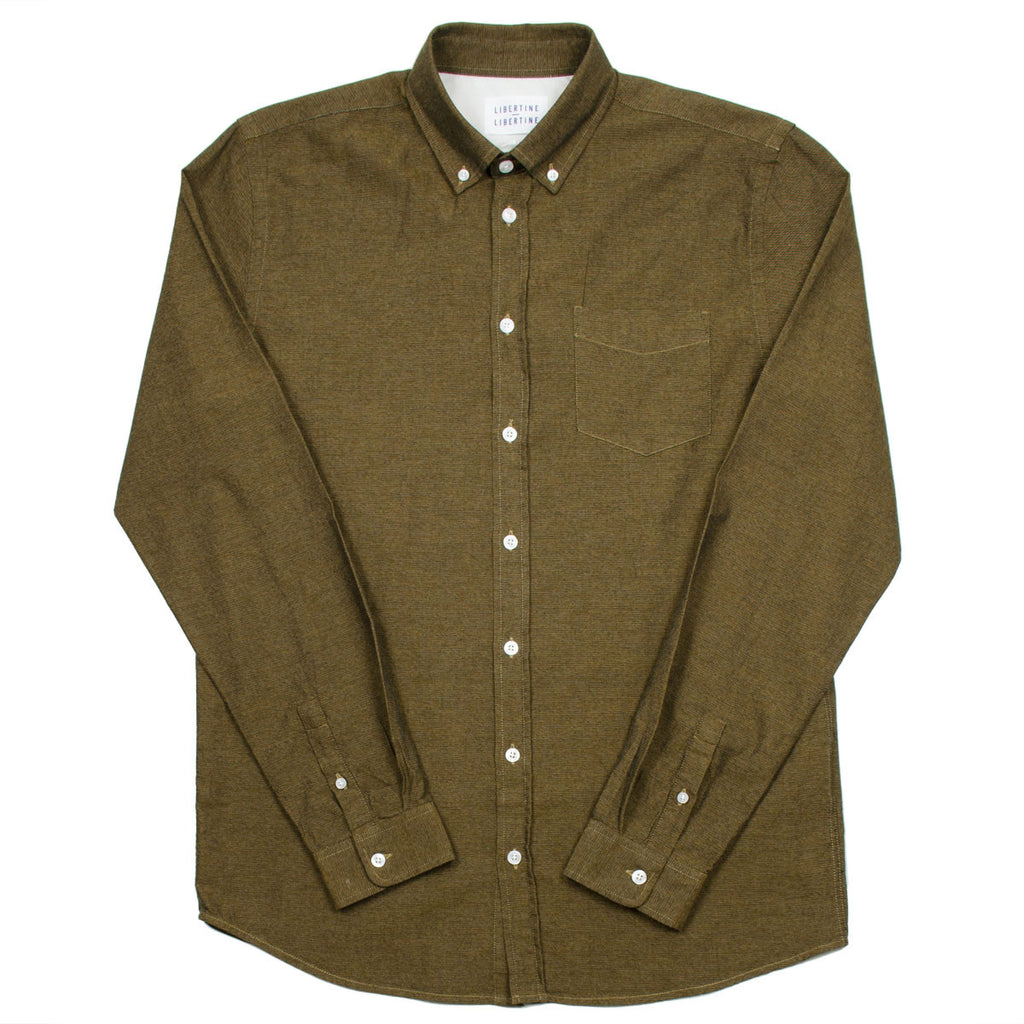 Libertine-Libertine - Hunter Shirt Bruce - Cognac