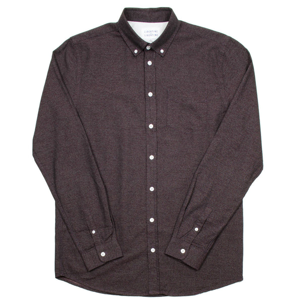 Libertine-Libertine - Hunter Shirt Bruce - Wine