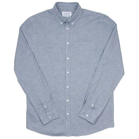 Libertine-Libertine - Hunter Shirt Care - Denim Blue