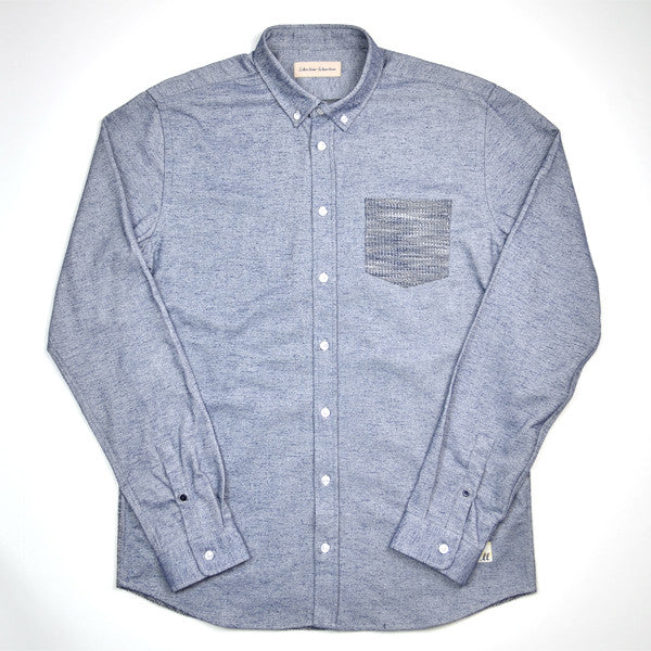 Libertine-Libertine - Hunter Shirt Hurt - Navy
