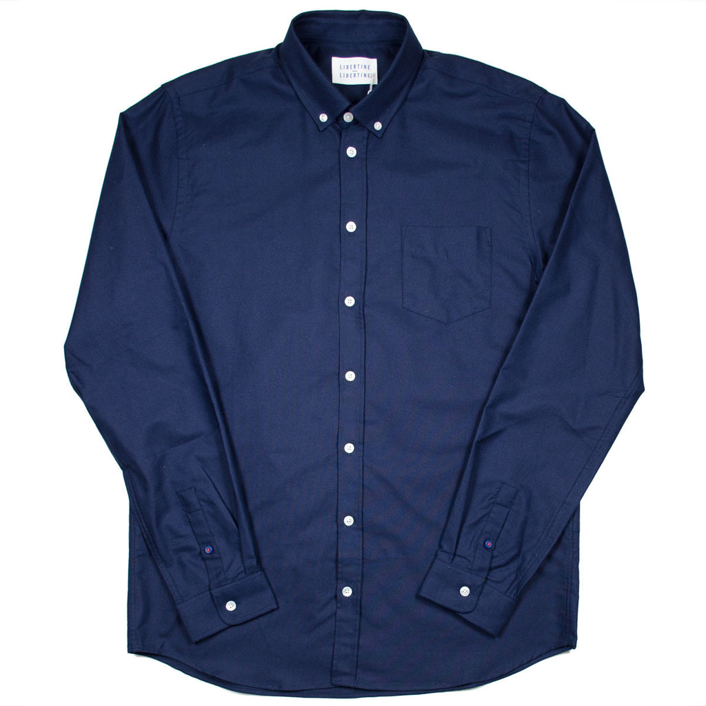Libertine-Libertine - Hunter Shirt Panama - Peacot (Navy)