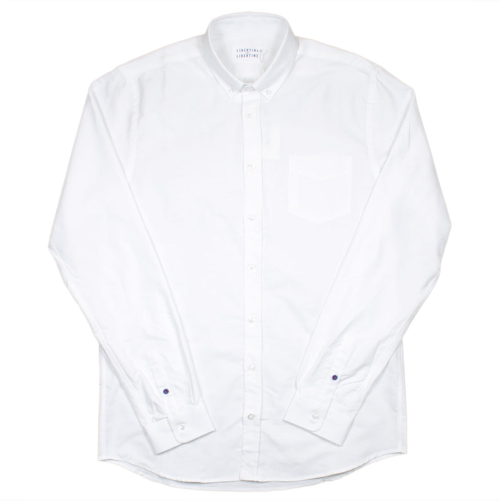 Libertine-Libertine - Hunter Shirt Panama - White