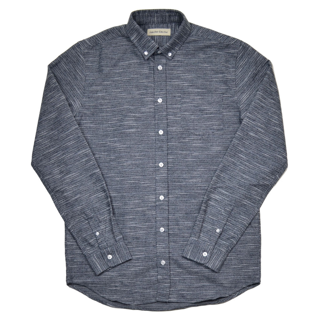 Libertine-Libertine - Hunter Shirt Tin - Peacoat (Navy)