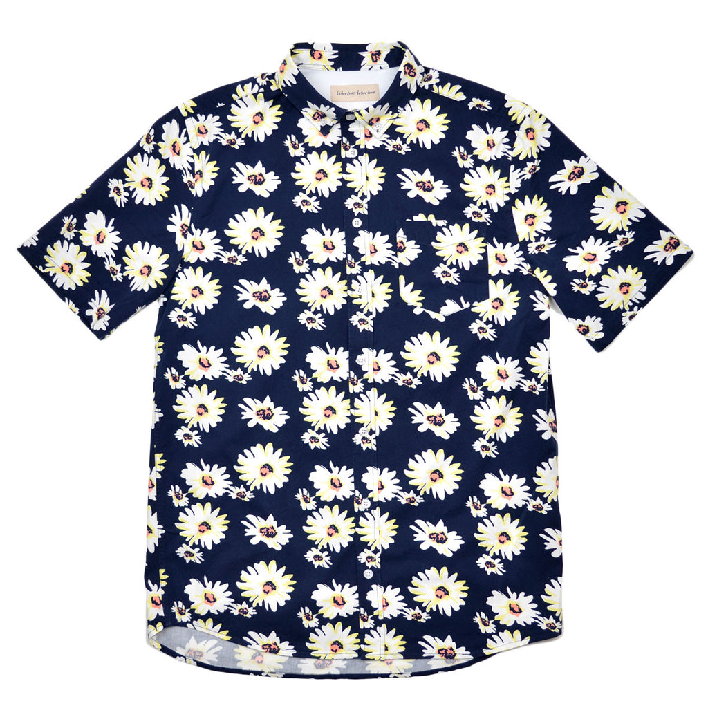 Libertine-Libertine - Hunter Short-Sleeve Shirt Ark - AOP Flowers