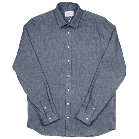 Libertine-Libertine - Lynch Shirt Moth - Blue