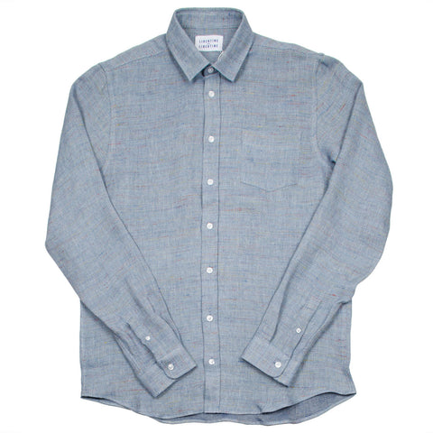Libertine-Libertine - Lynch Shirt Pocus - Blue