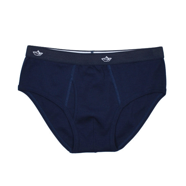 Libertine-Libertine Underwear - Rib Brief - Peacoat (Navy)