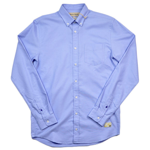 Libertine-Libertine – Hunter Shirt Panama – Light Blue