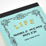 Life Stationery - Memo Book N42 (B7) - Light Blue