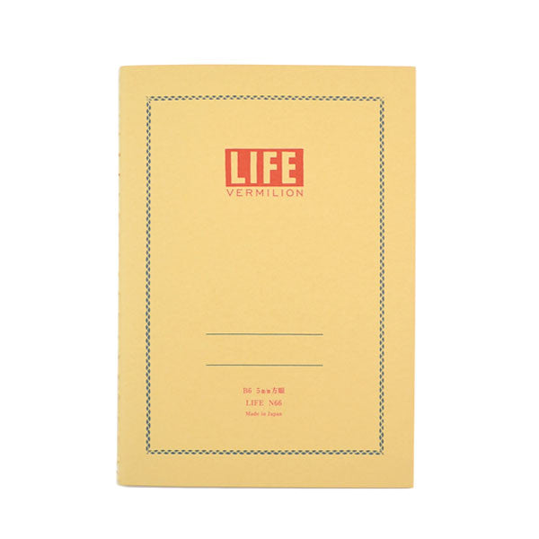 Life Stationery - Notebook N66 (B6) - Ivory