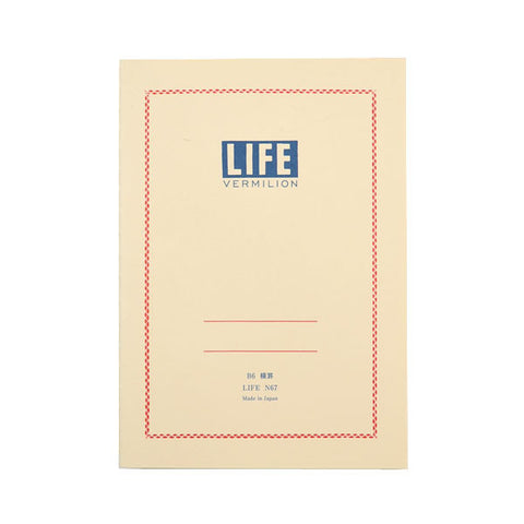 Life Stationery - Notebook N67 (B6) - Cream