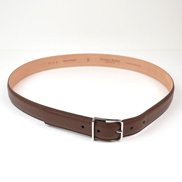 Maison Boinet - Classic Nappa Leather Belt - Brown