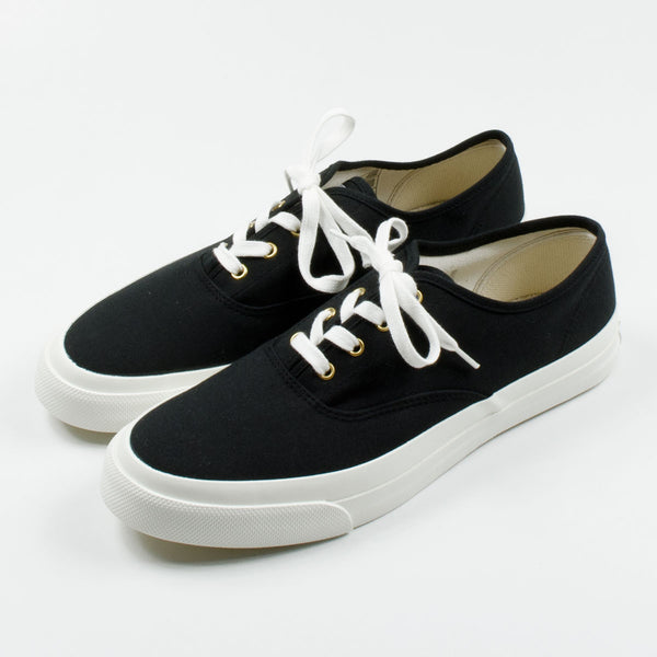 Maison Kitsuné - Canvas Sneakers - Black