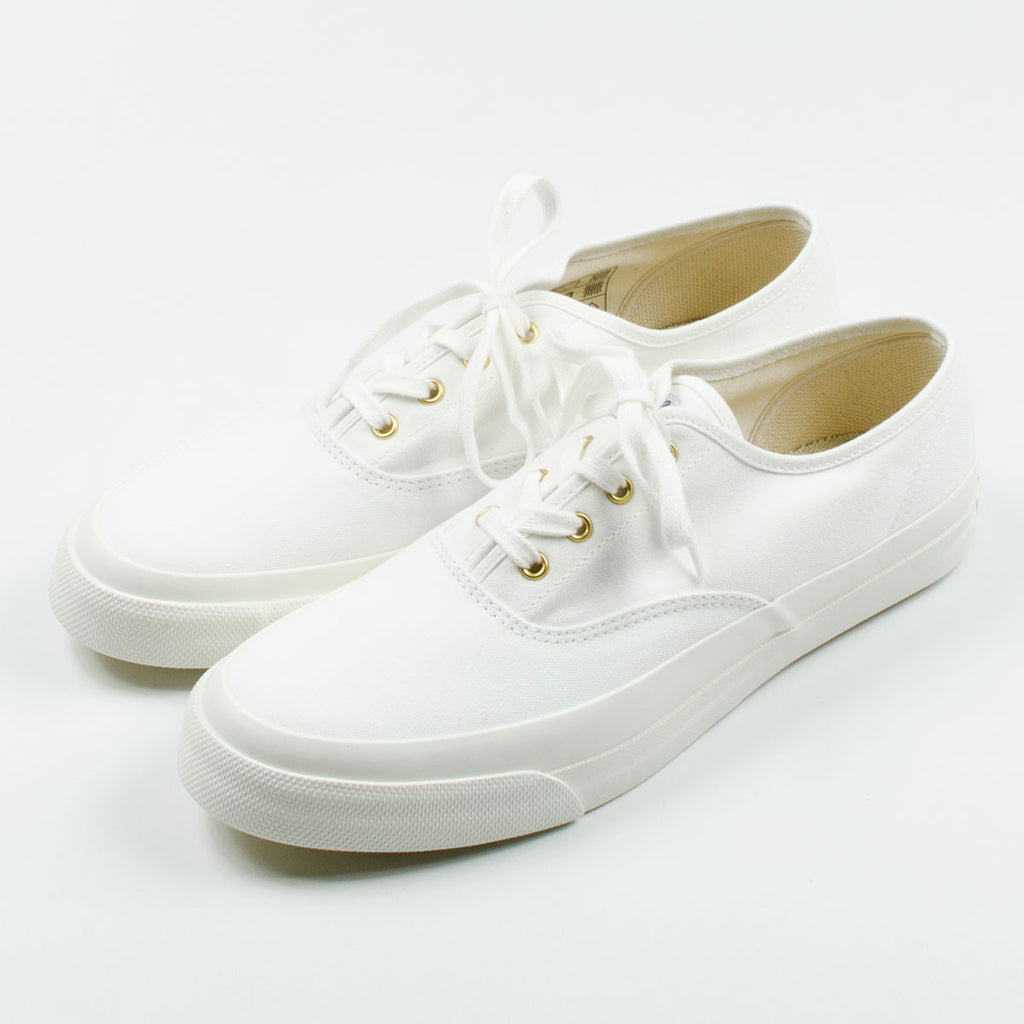 Maison Kitsuné - Canvas Sneakers - White