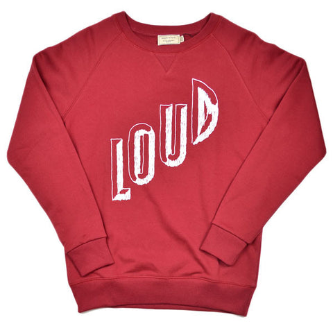 Maison Kitsuné - Loud Sweater - Burgundy