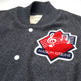 Maison Kitsuné - Music Teddy - Grey / Ecru