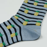 Marcomonde - Pineapples Malaysia Socks - Blue