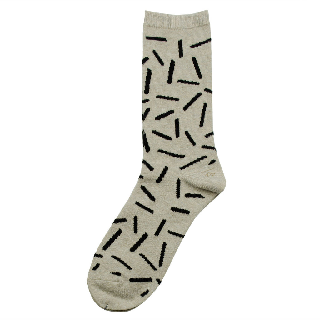 Marcomonde - Sticks Peru Socks - Beige