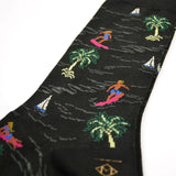 Marcomonde - Surfing Cotton Socks - Black