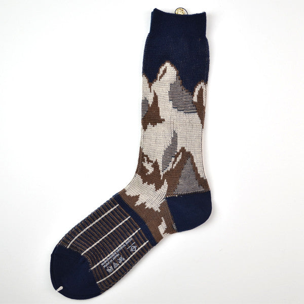 Marcomonde - Mountain Socks Wool - Navy