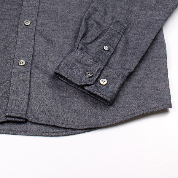 821a23bd10d Norse Projects - Anton Brushed Flannel Shirt - Magnet Grey – BEAUBIEN