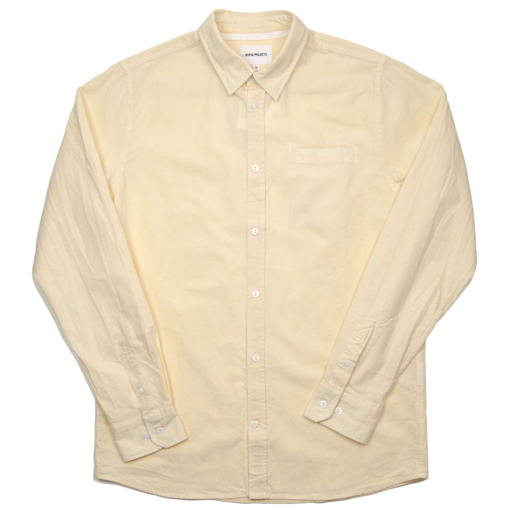 Norse Projects - Anton Chambray Shirt - Ecru