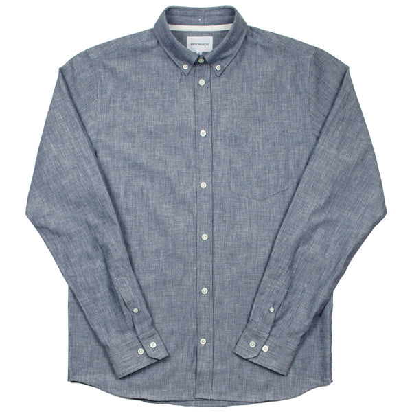 Norse Projects - Anton Chambray Shirt - Indigo