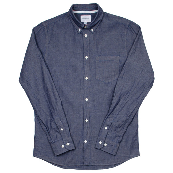 Norse Projects - Anton Chambray Shirt - Light Indigo