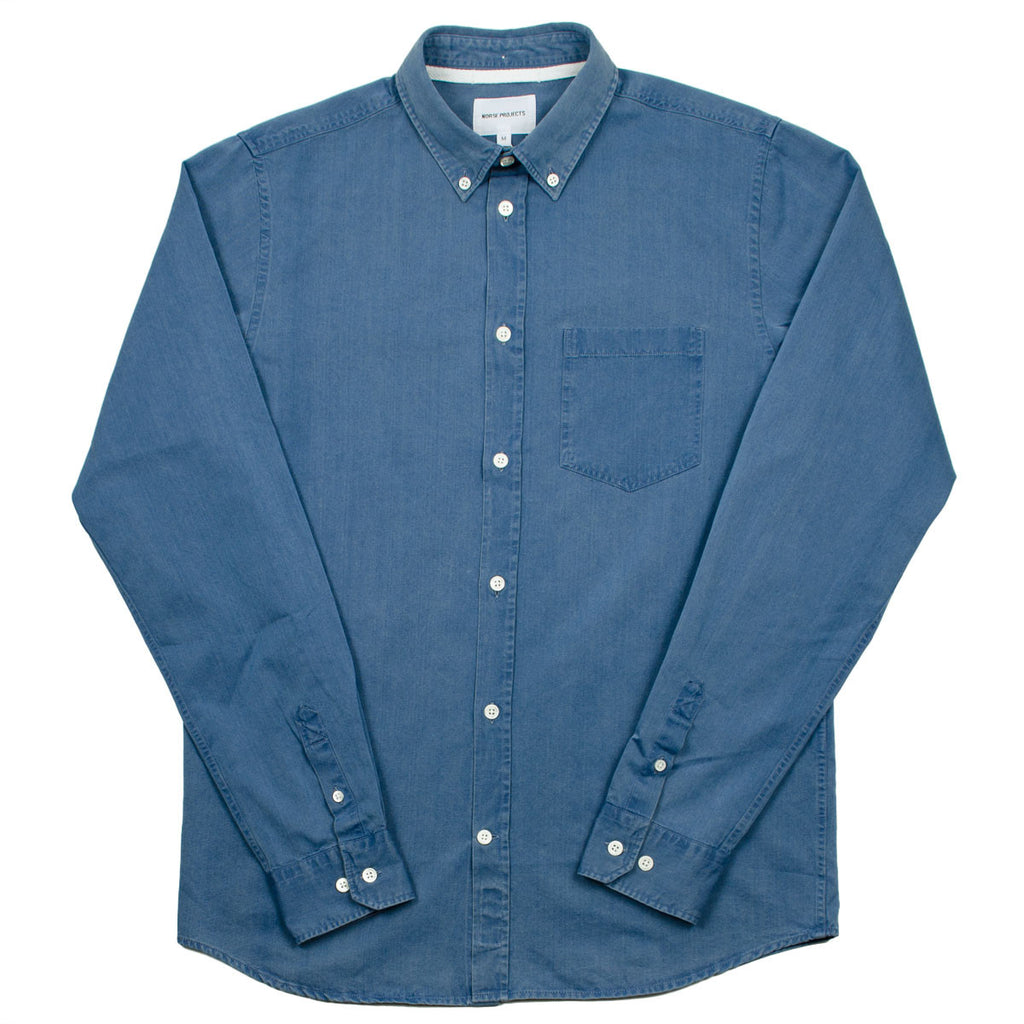 b4c5cf1750 Norse Projects - Anton Denim Shirt - Sunwashed – BEAUBIEN