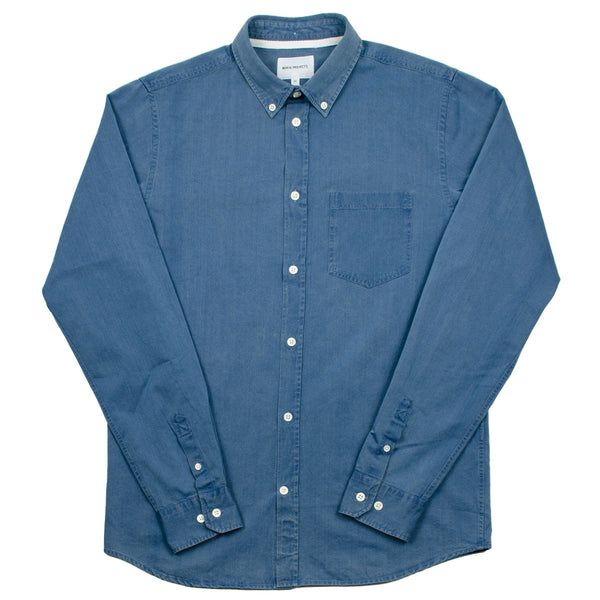 Norse Projects - Anton Denim Shirt - Sunwashed