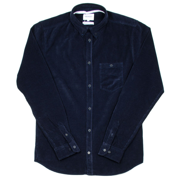 Norse Projects - Anton Fine Corduroy Shirt - Navy