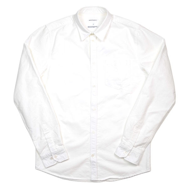 Norse Projects - Anton Heavy Brushed Oxford Shirt - White