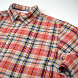 Norse Projects - Anton Madras Shirt - Blood Orange