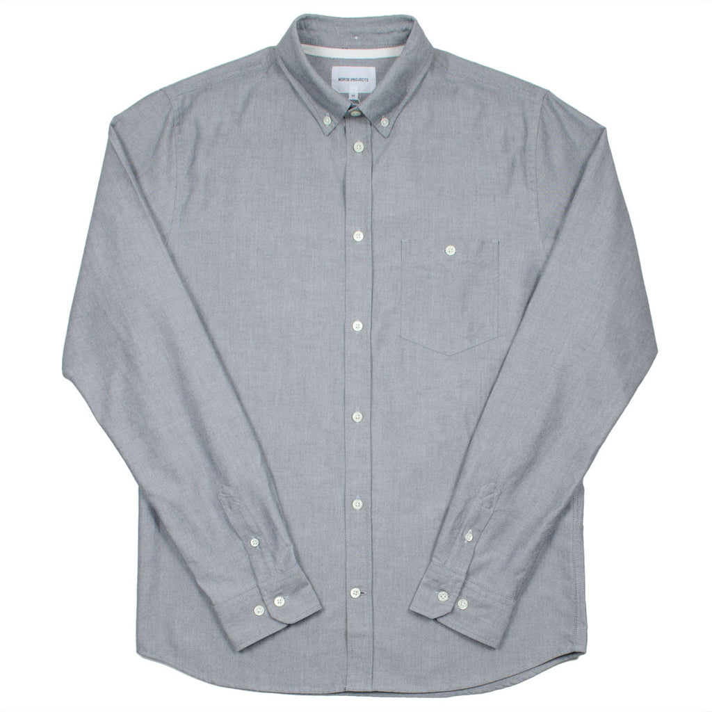 Norse Projects - Anton Oxford Shirt - Grey