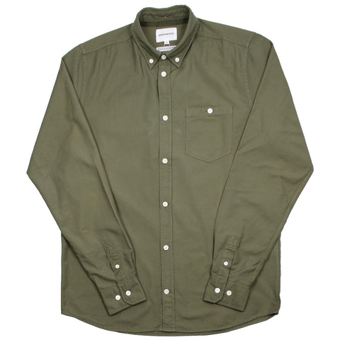 Norse Projects - Anton Oxford Shirt - Ivy Green