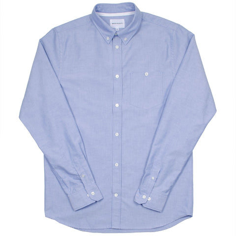 Norse Projects - Anton Oxford Shirt - Navy
