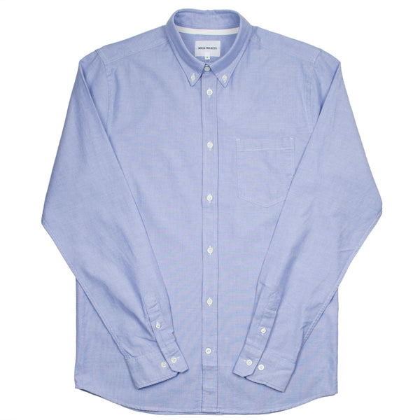 Norse Projects - Anton Oxford Shirt - Pale Blue