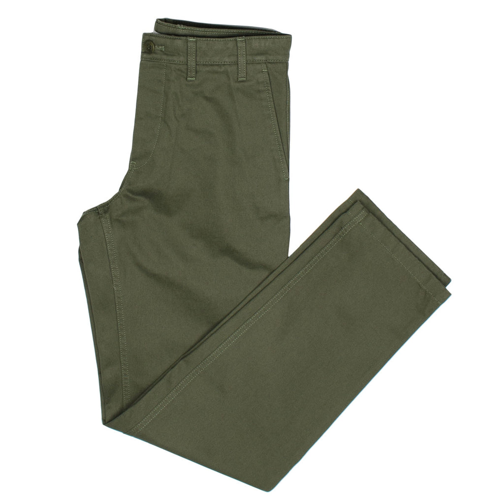 Norse Projects - Aros Heavy Chino - Ivy Green