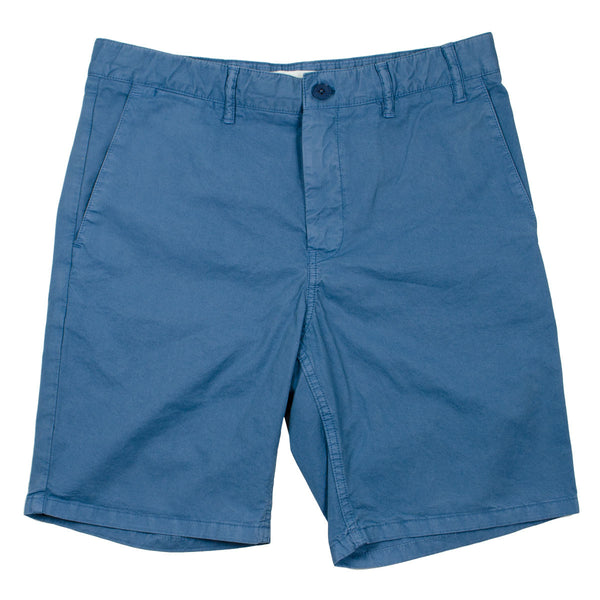 Norse Projects - Aros Light Twill Shorts - Marginal Blue