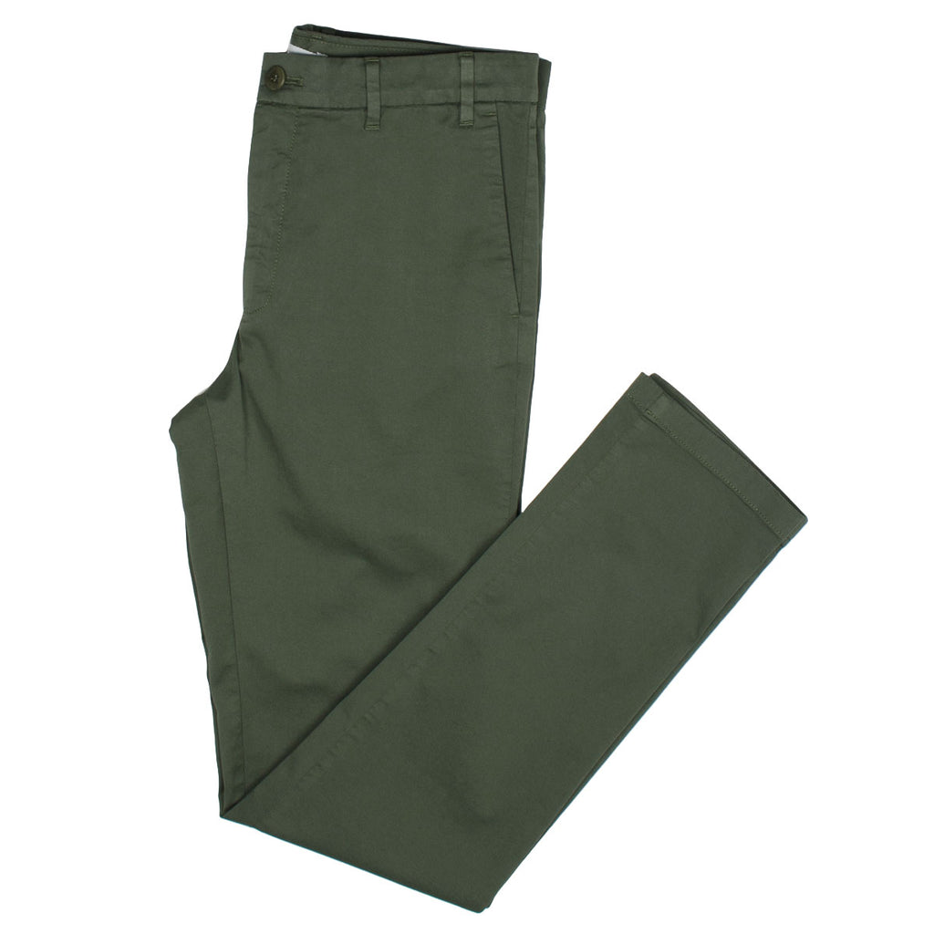 Norse Projects - Aros Slim Light Stretch Chino - Ivy Green