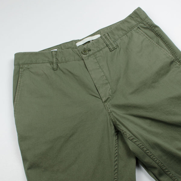 Norse Projects - Aros Slim Light Twill Chinos - Dried Olive – BEAUBIEN ea609b006