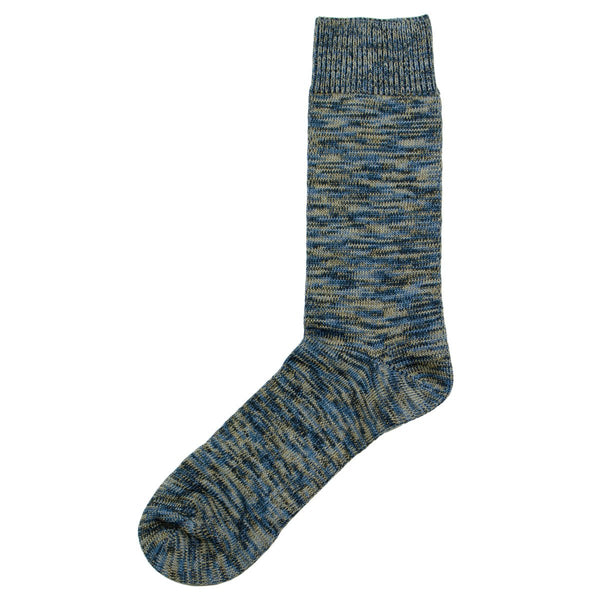 Norse Projects - Bjarki Blend Socks - Ensign Blue