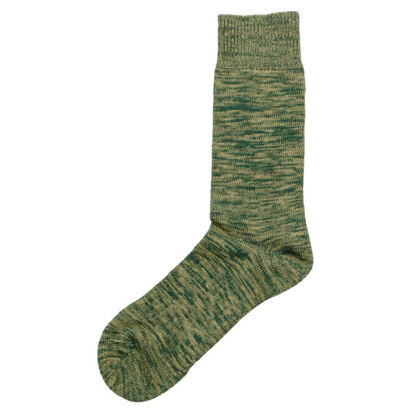 Norse Projects - Bjarki Blend Socks - Quartz Green