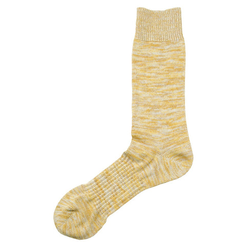 Norse Projects - Bjarki Blend Socks - Sunwashed Yellow