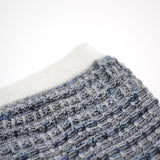 Norse Projects - Bjarki Denim Stitch Socks - Blue Melange