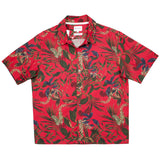 Norse Projects - Carsten Print Hawaiian Shirt - Askja Red