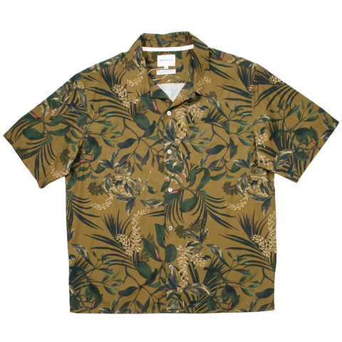 Norse Projects - Carsten Print Hawaiian Shirt - Russet