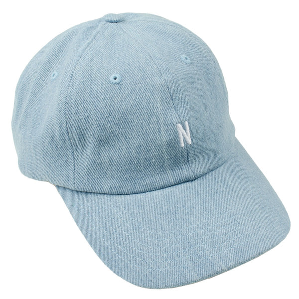 5ac358b9890 Norse Projects - Denim Sports Cap - Sunwashed