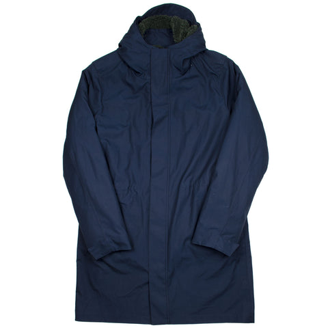 Norse Projects - Elias Cambric Cotton Parka - Dark Navy
